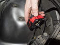 Xenon bulb: Remove igniter from vehicle.
