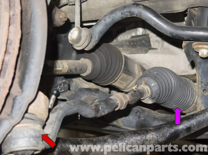 Z4 Inner Tie Rod Set- -Left /& Right-IN STOCK-07-11  W//NUTS 330i BMW  328i PAIR