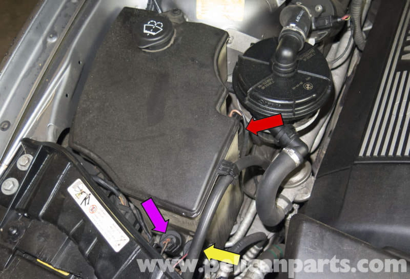 Pelican Parts Technical Article Bmw X3 Washer Pump