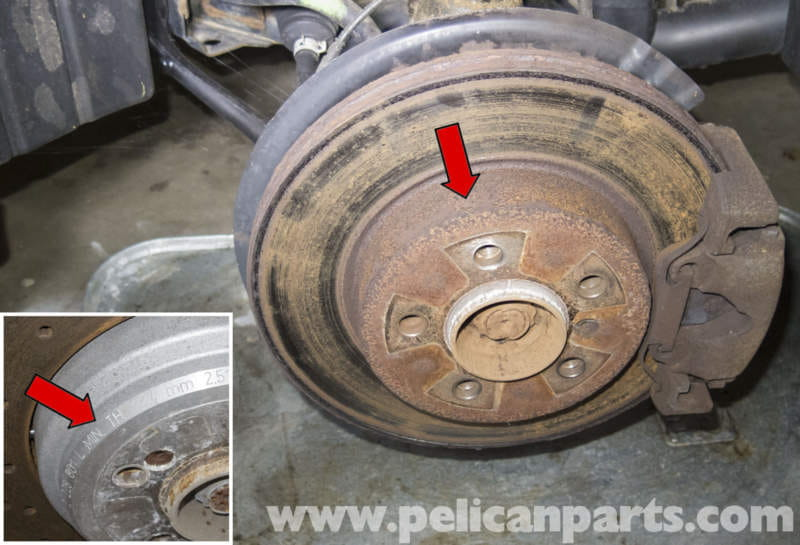Pelican Technical Article Bmw X3 Brake Rotor