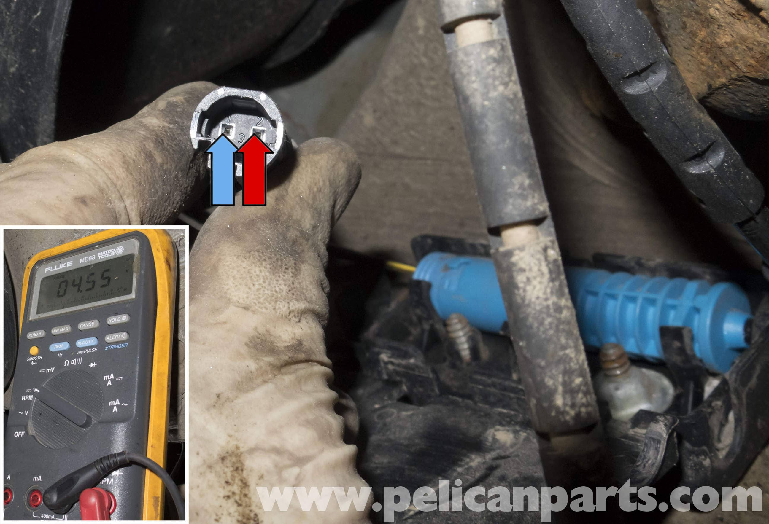 pelican parts technical article bmw x3 brake pad. Black Bedroom Furniture Sets. Home Design Ideas