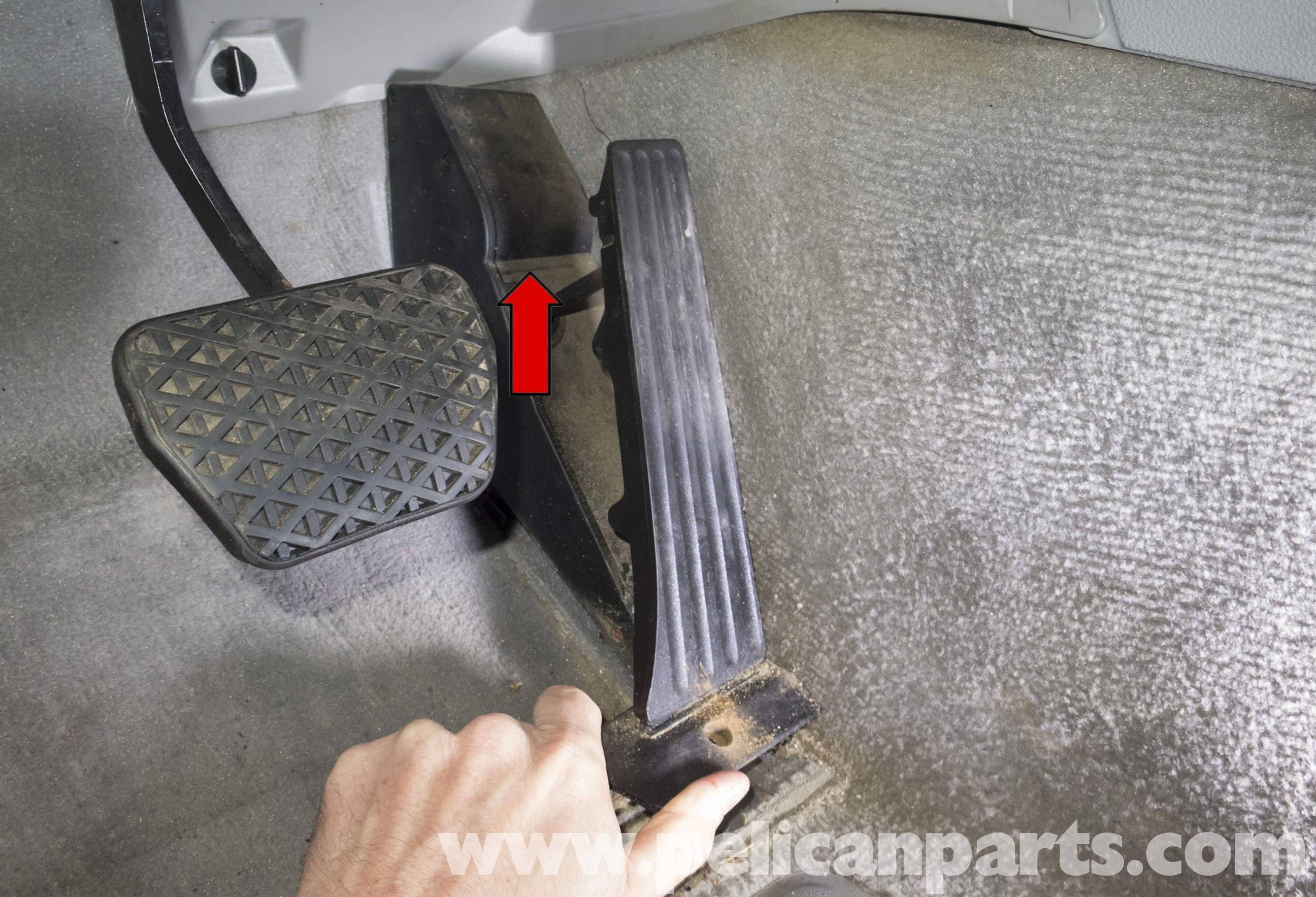 Pelican Parts Technical Article - BMW-X3 - Accelerator Pedal
