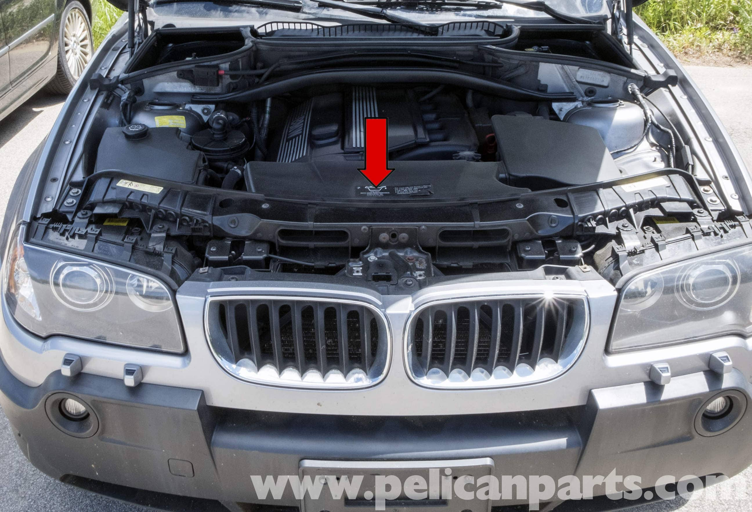 Pelican Technical Article Bmw X3 Engine Cooling Fan Replacement Mount E46 Fuel Filter Electric Large Image Extra