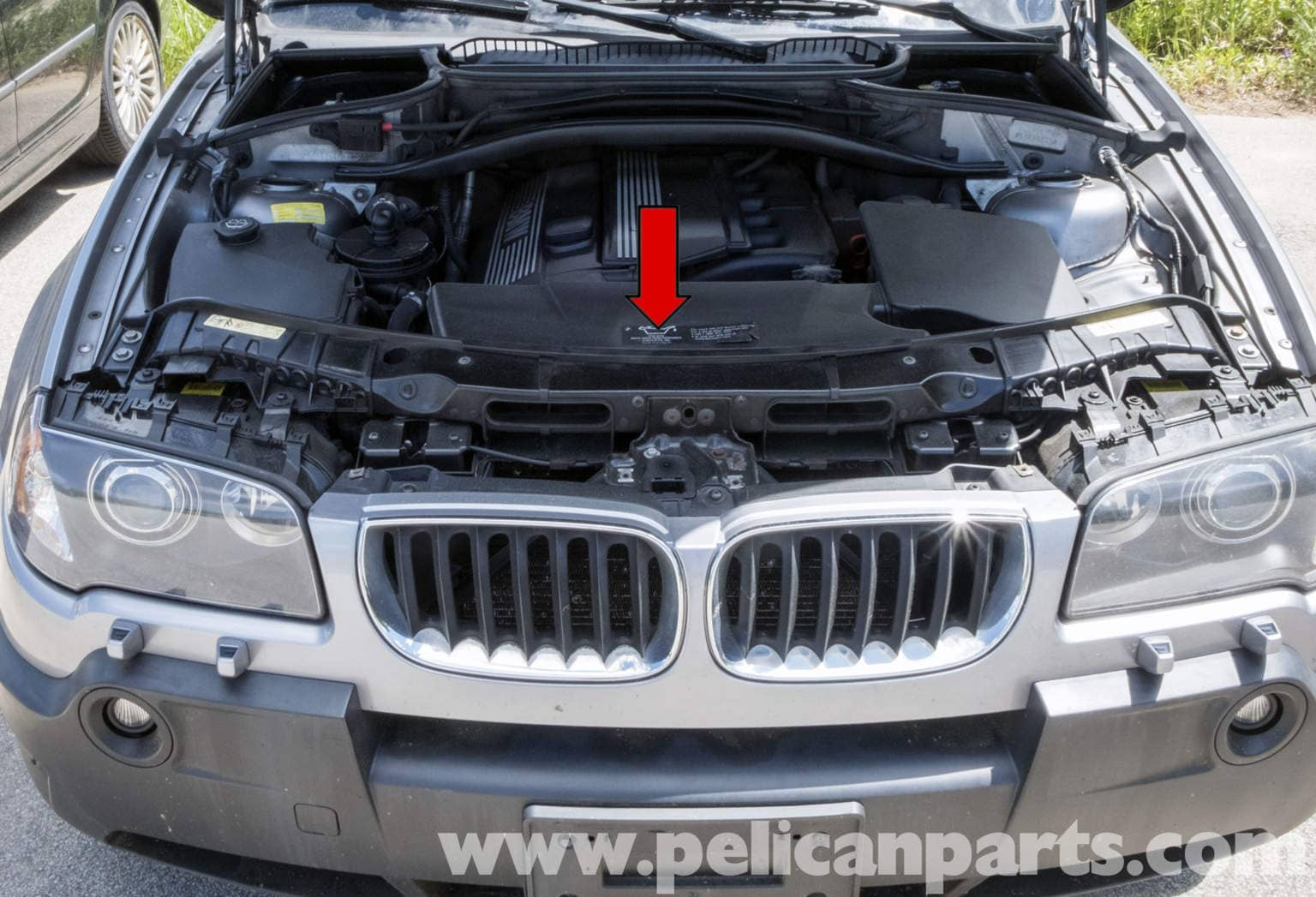 Pelican Parts Technical Article Bmw X3 Engine Cooling Fan Replacement