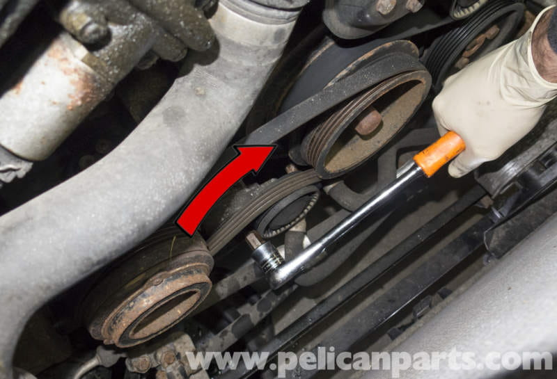 pelican parts technical article bmw x3 m54 6 cylinder engine For Nissan Altima 2.5 Belt Diagram