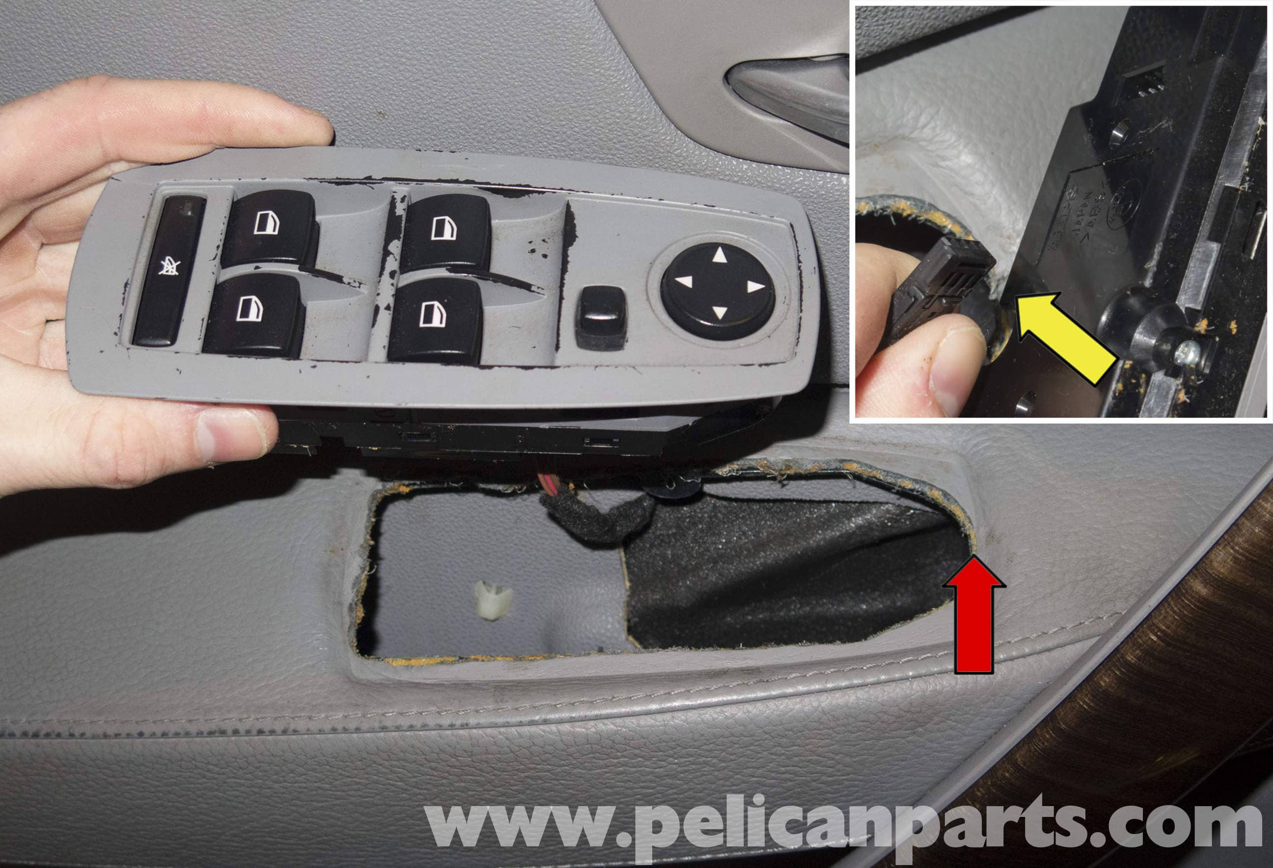 Pelican Technical Article Bmw X3 Power Window Switch Replacement Engine Connect Digital Outputs To Cut Off Car Door Windows Circuit Large Image Extra