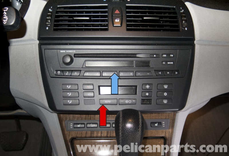 pelican technical article bmw x3 radio ihka panel. Black Bedroom Furniture Sets. Home Design Ideas