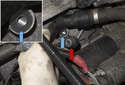 Then remove the knock sensors (red arrow) from your engine.