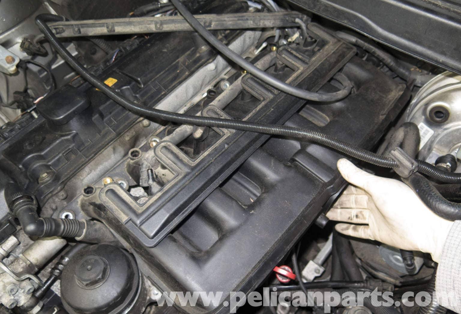 Removing M54 Intake Manifold  BMW E60 5-Series DISA Valve