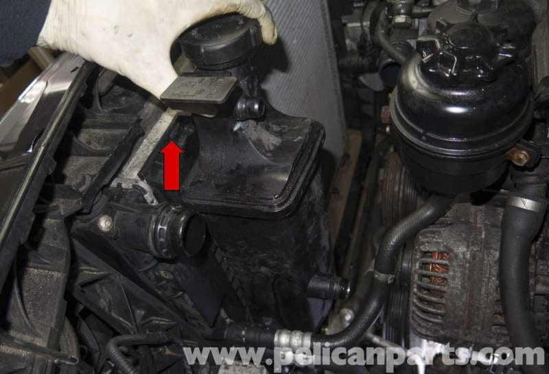 how to change expansion tank