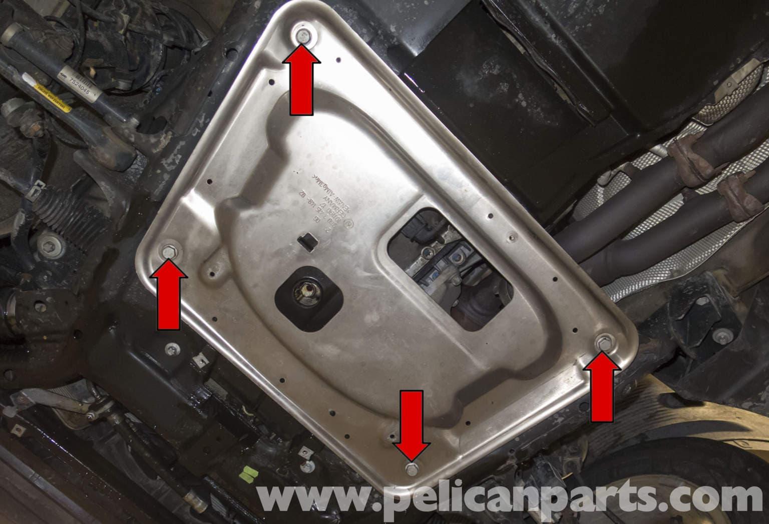 Pelican Parts Technical Article - BMW-X3 - Engine Splash ...