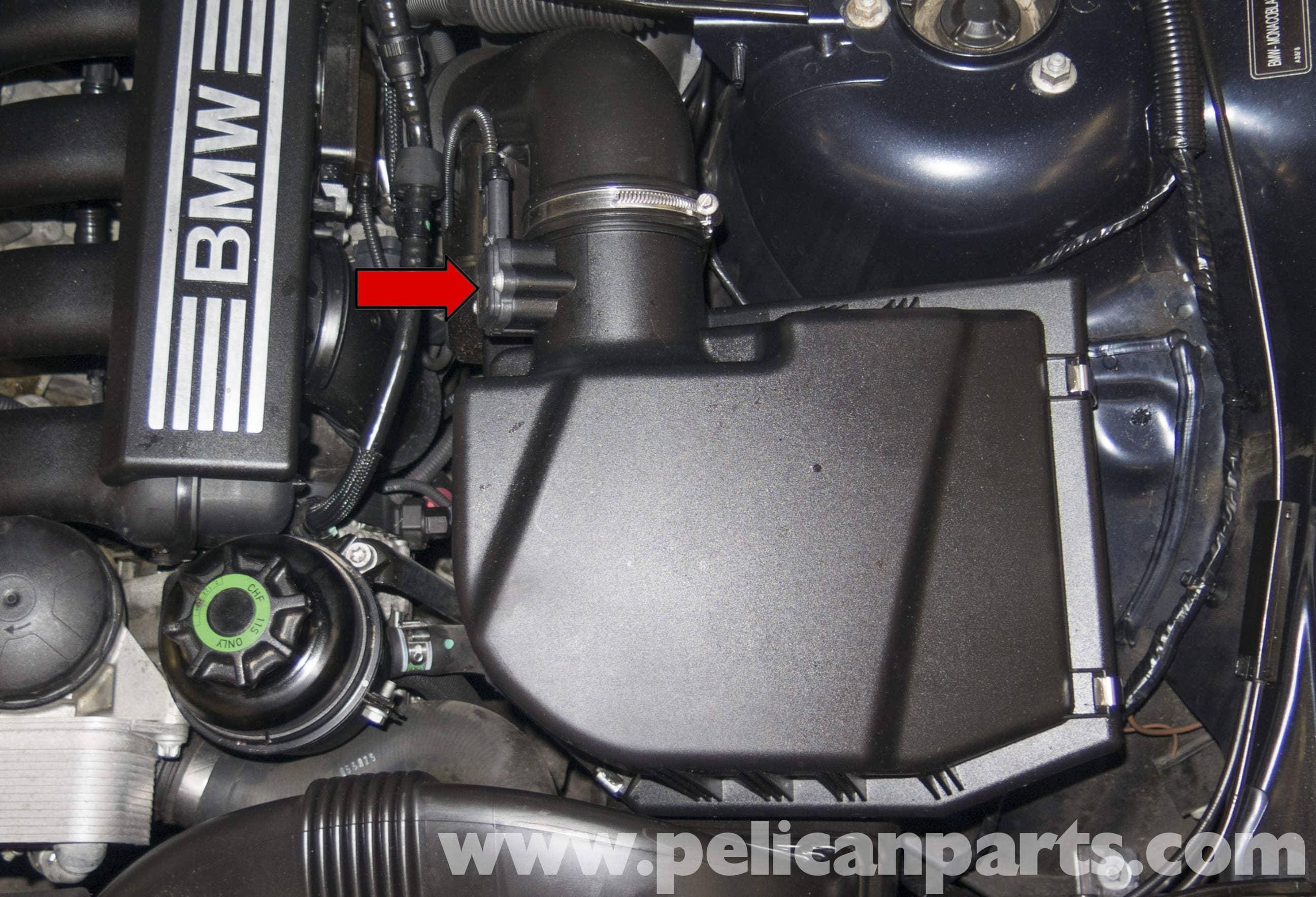 Pelican Parts Technical Article - BMW-X3 - Mass Air Flow