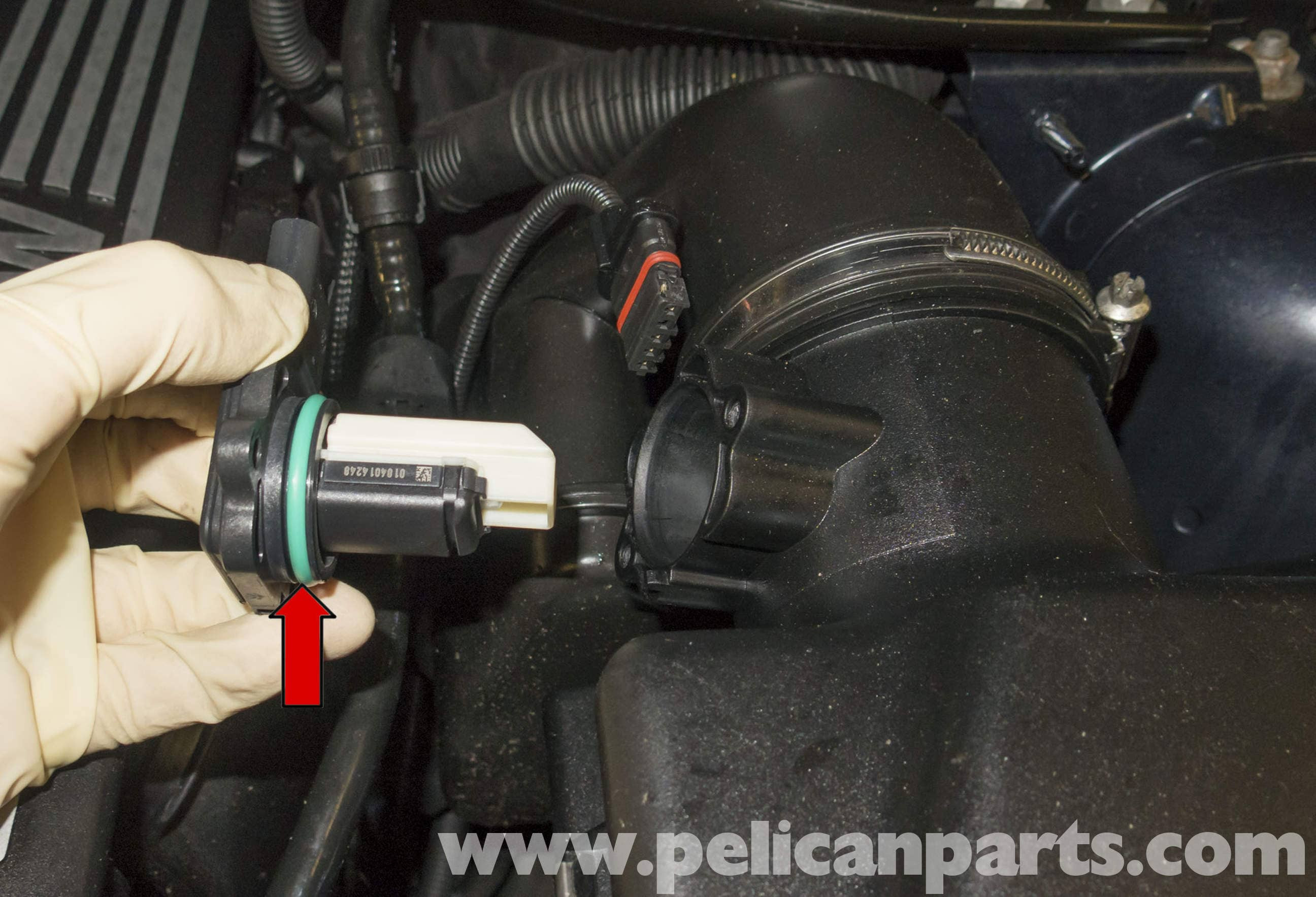 pelican technical article bmw  mass air flow sensor replacement  engine