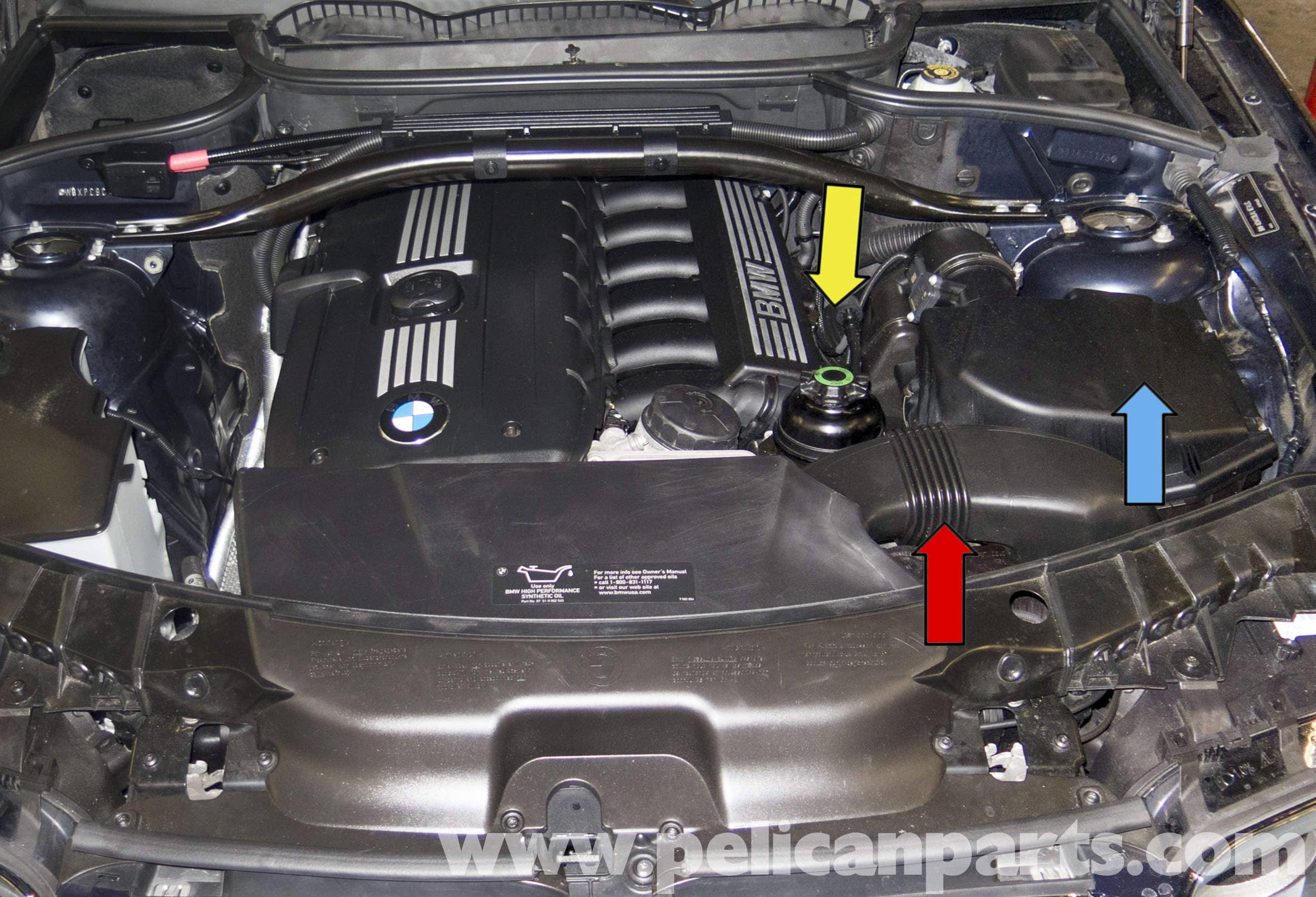 Pelican Parts Technical Article - BMW-X3 - Intake Air Ducts