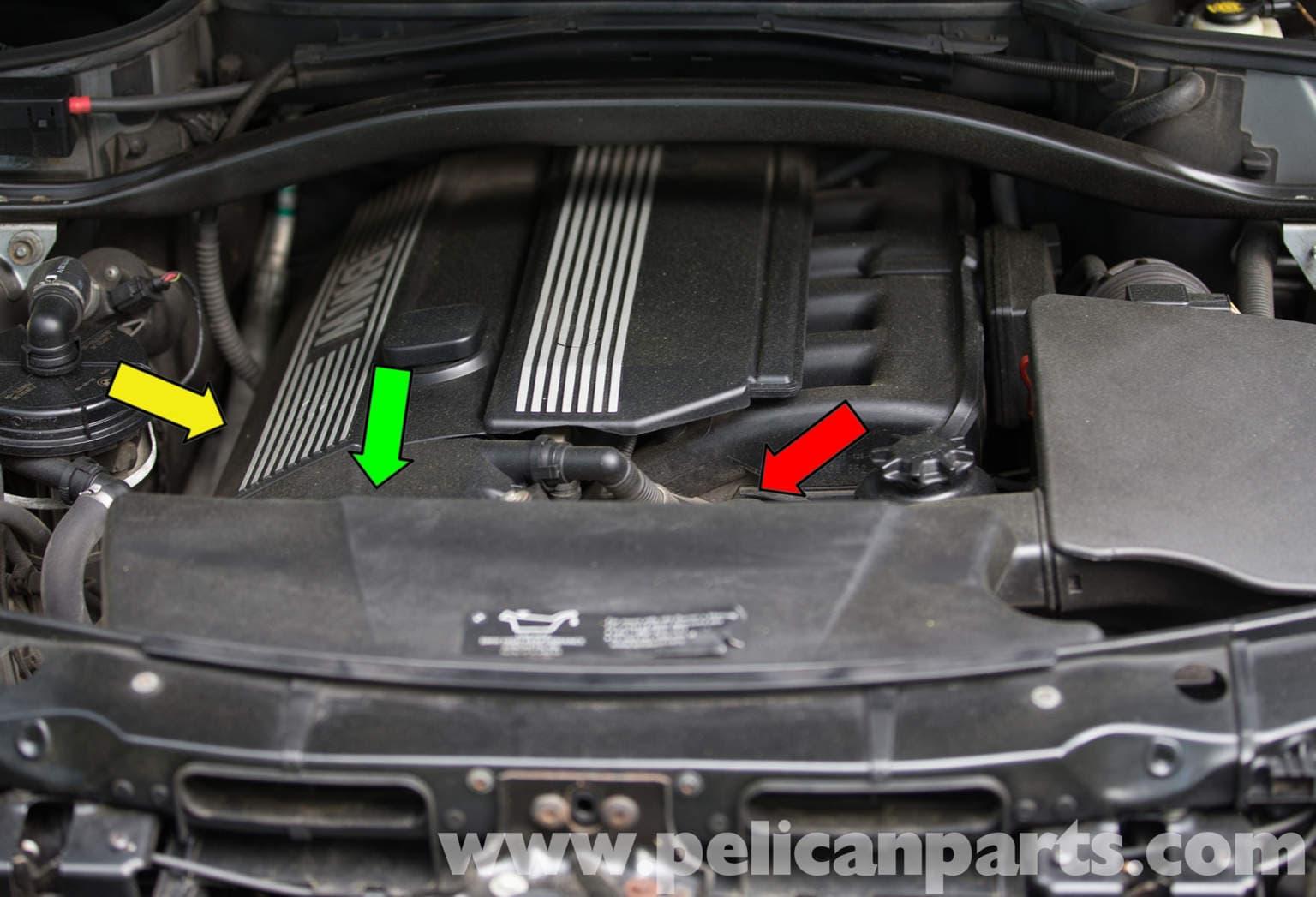Pelican Parts Technical Article Bmw X3 Oil Leak Diagnosis