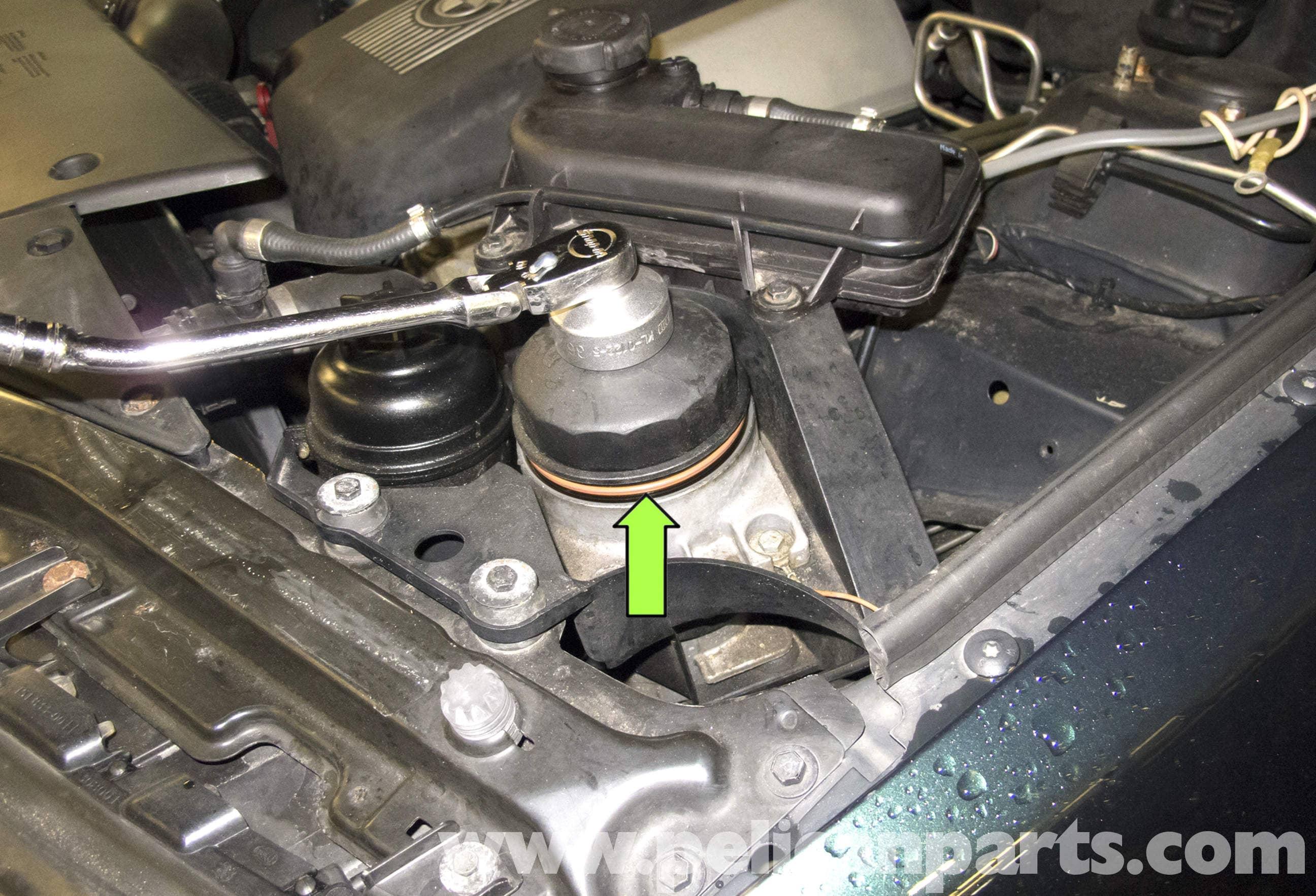 Bmw X5 Oil Change E53 2000 2006 Pelican Parts Diy