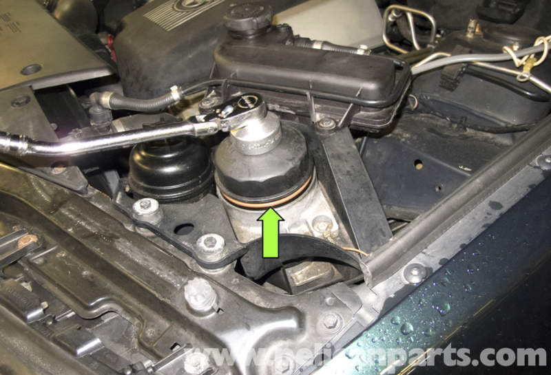 Bmw X5 Oil Change E53 2000 2006 Pelican Parts Diy Maintenance Rhpelicanparts: 2001 Bmw X5 Oil Filter Location At Elf-jo.com
