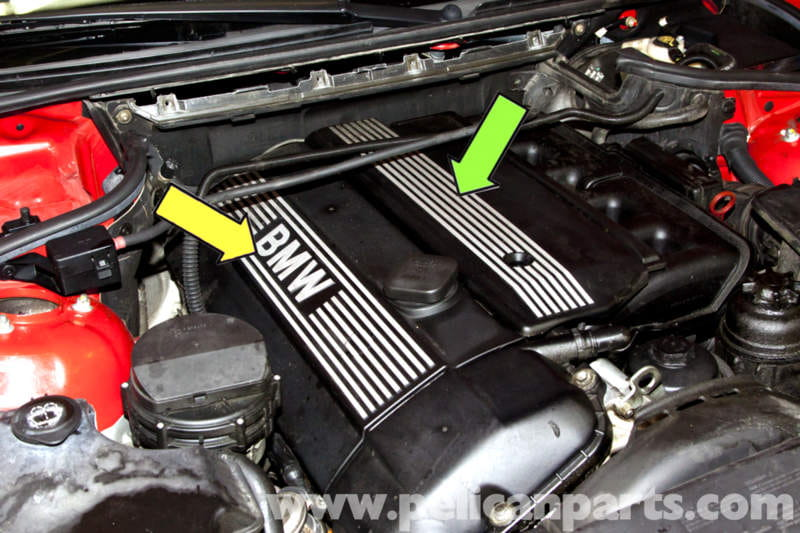 bmw x5 engine covers removal e53 2000 2006 pelican. Black Bedroom Furniture Sets. Home Design Ideas