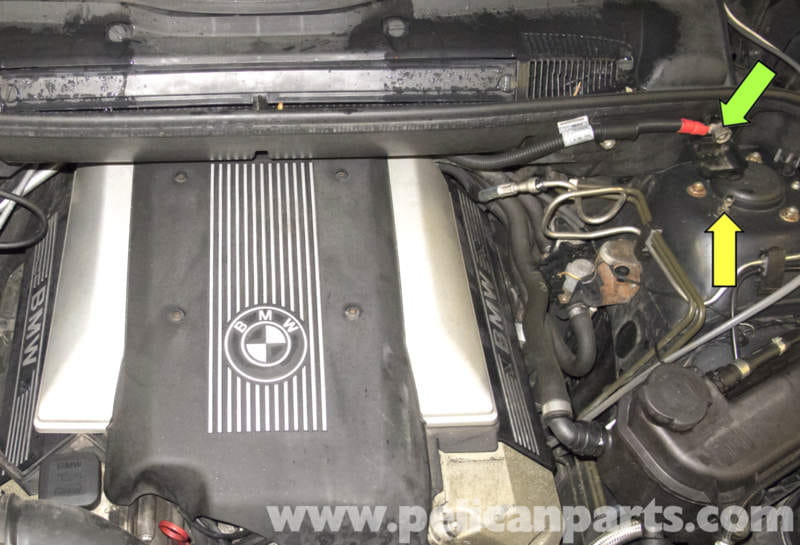 Bmw X5 Battery Replacement And Connection Notes E53 2000 2006 Rhpelicanparts: 2004 Bmw X5 Battery Location At Elf-jo.com