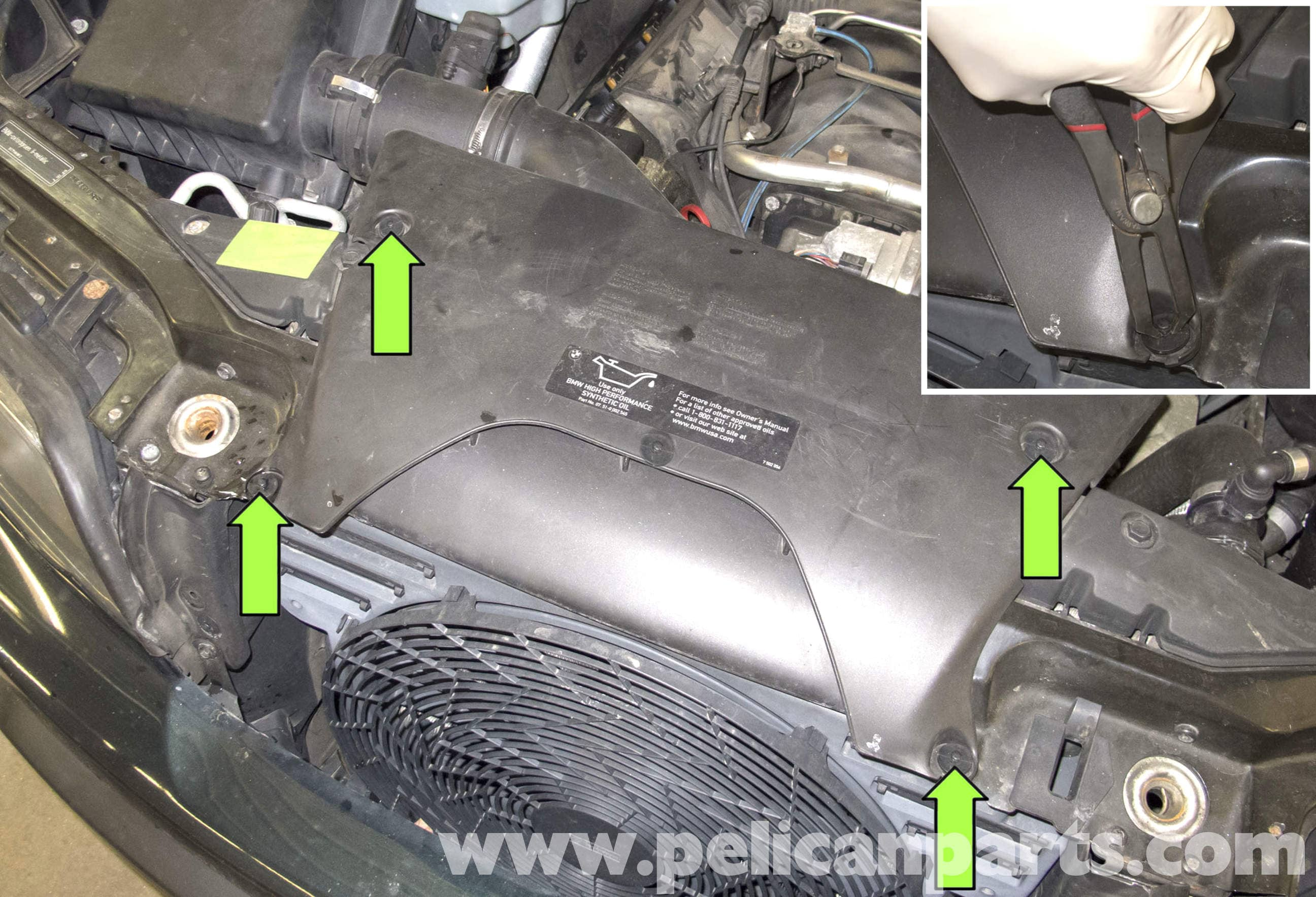 BMW X5 M62 8-Cylinder Camshaft Position Sensor Replacement