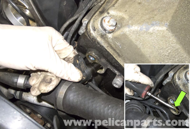 BMW X5 M62 8 Cylinder Camshaft Position Sensor Replacement
