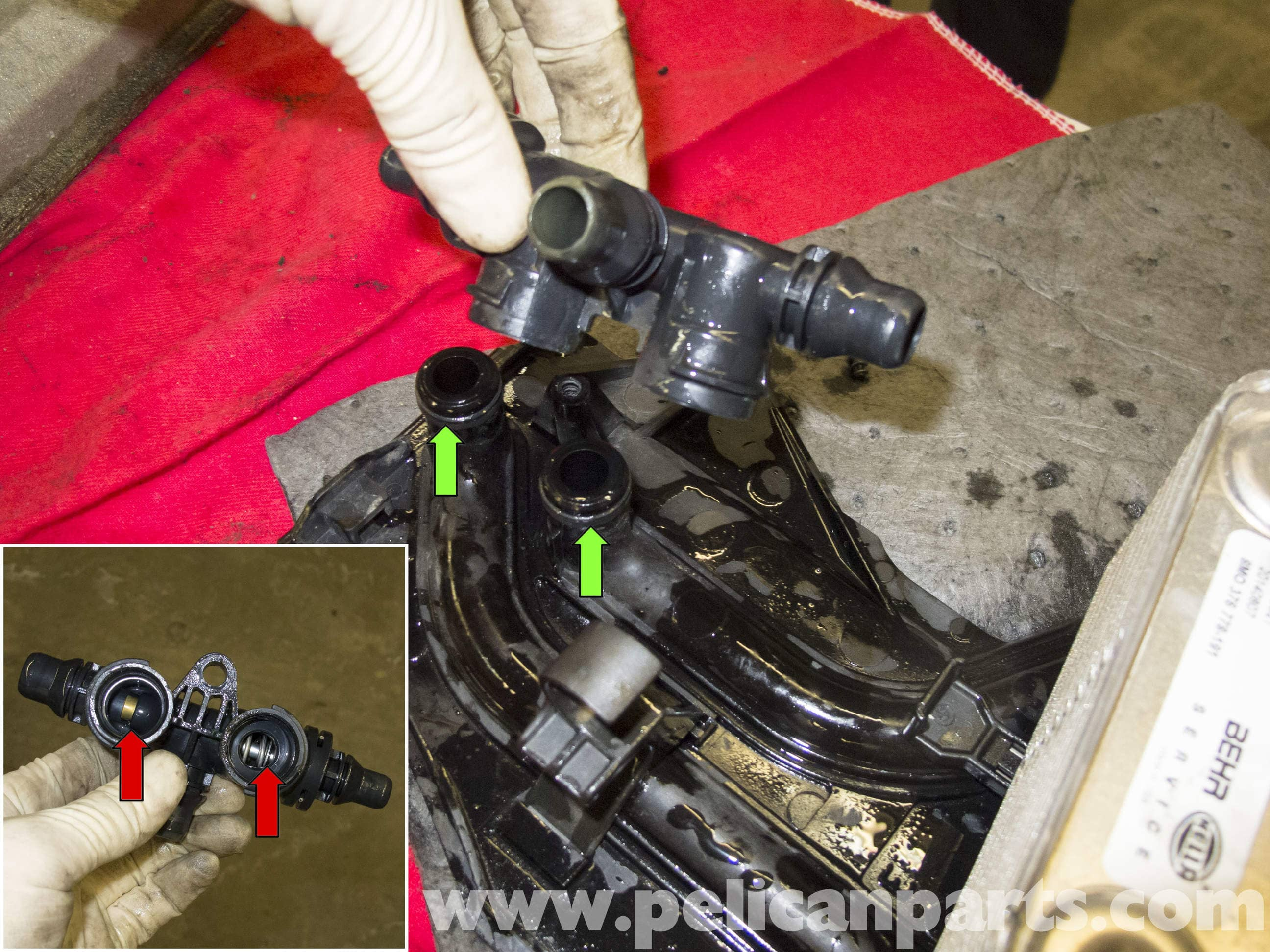 Bmw X5 Transmission Cooler And Thermostat Replacement E53