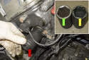 VANOS Solenoid: To replace a VANOS solenoid, see the above for removing the VANOS solenoid seal.