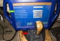 You can also use a BMW scan tool to check adjustment of the switch.