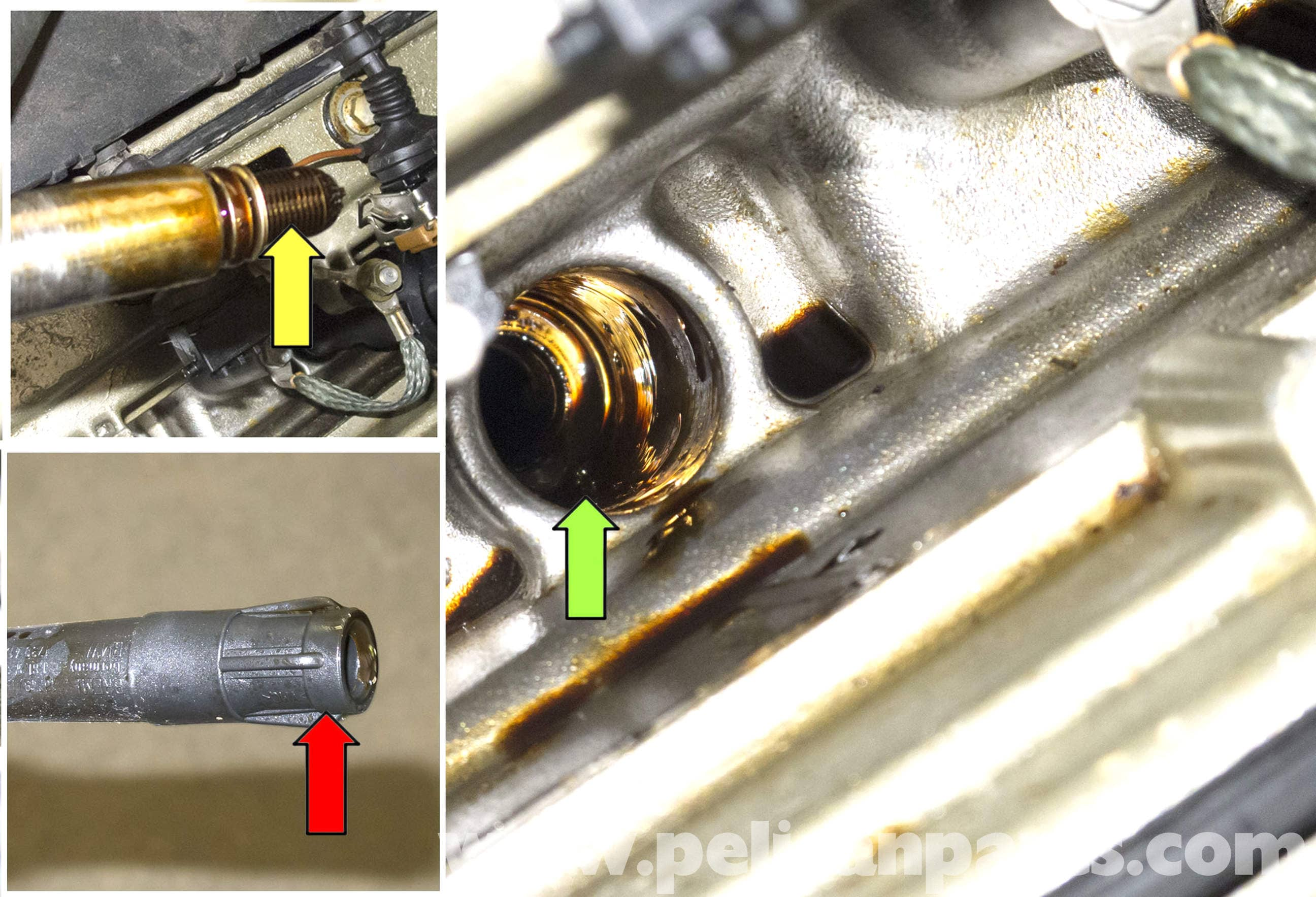 Bmw X5 M62 8-cylinder Spark Plug Coil Replacement  E53 2000