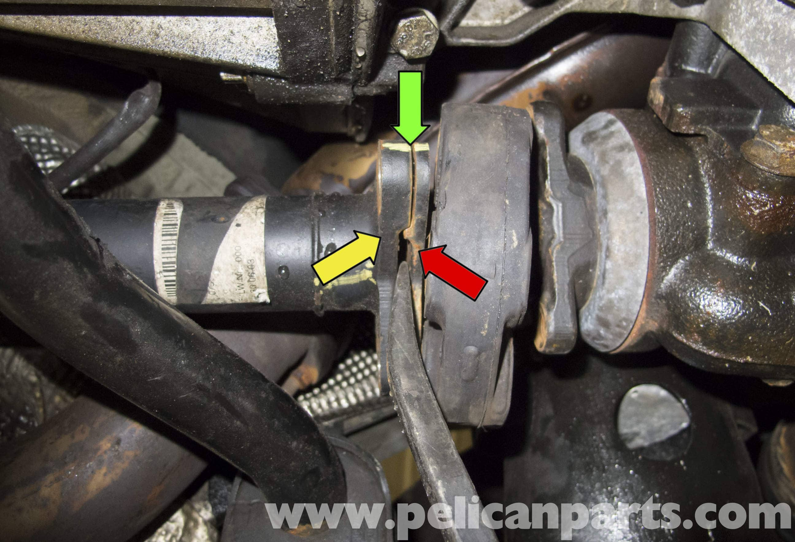 Bmw X5 Front Driveshaft And Flex Disc Replacement E53