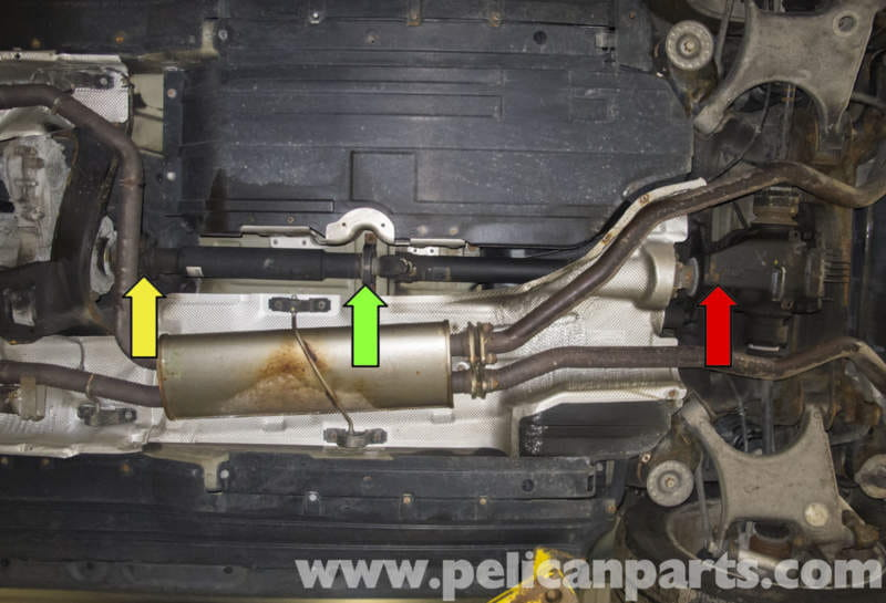 Bmw X5 Rear Driveshaft And Center Bearing Replacement E53