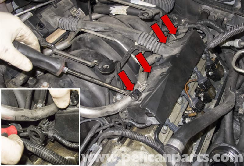 bmw x5 m62 8 cylinder fuel injector replacement  e53 2000