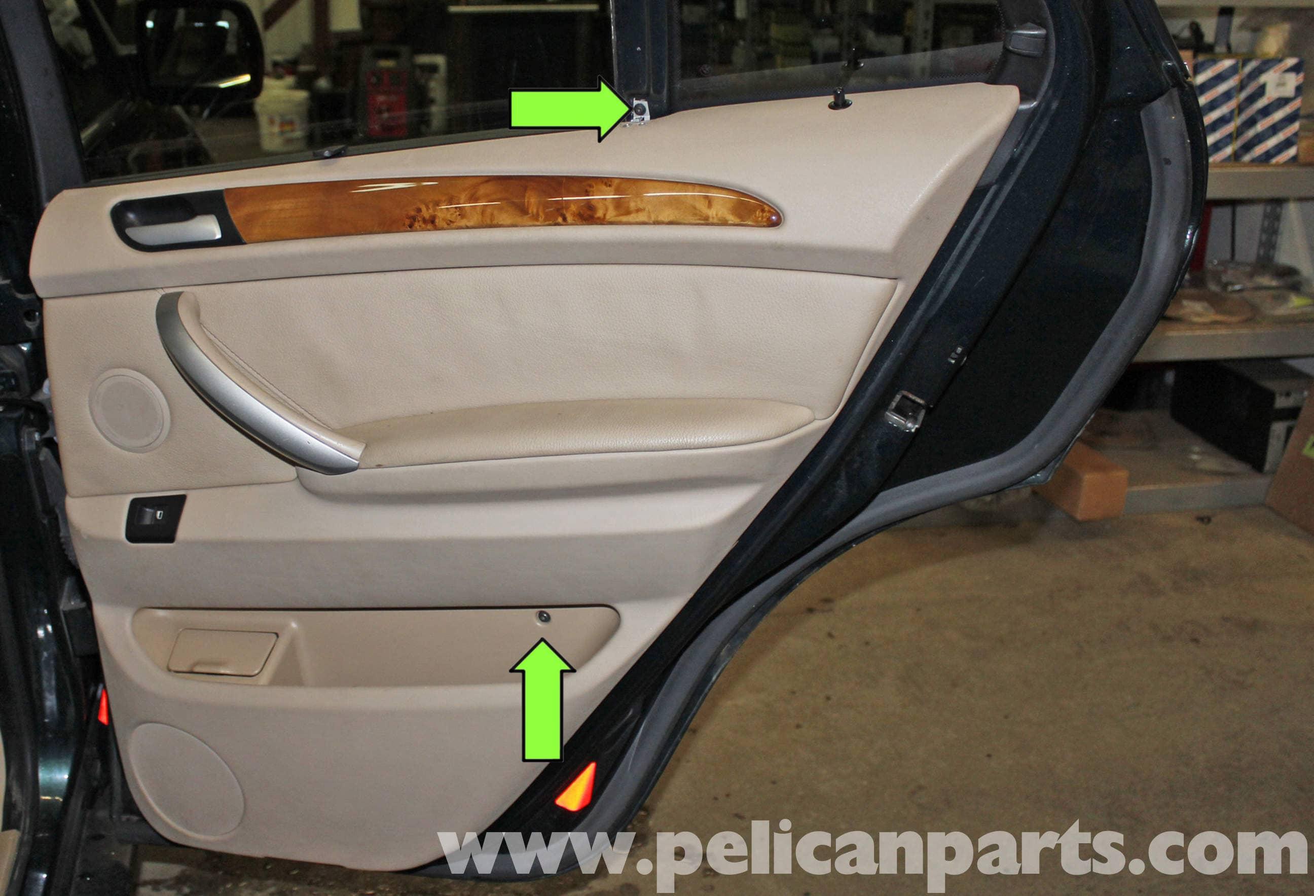 BMW X5 Rear Door Panel Replacement (E53 2000 - 2006