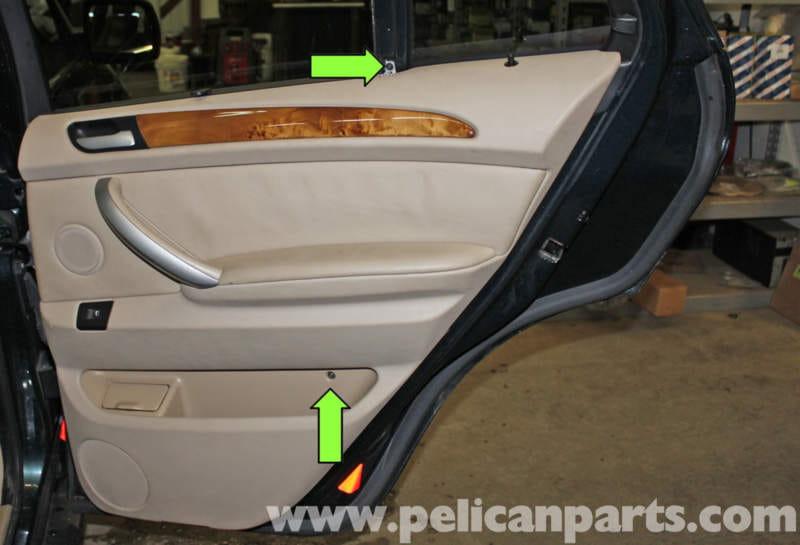 Bmw X5 Rear Door Panel Replacement E53 2000 2006 Pelican Parts