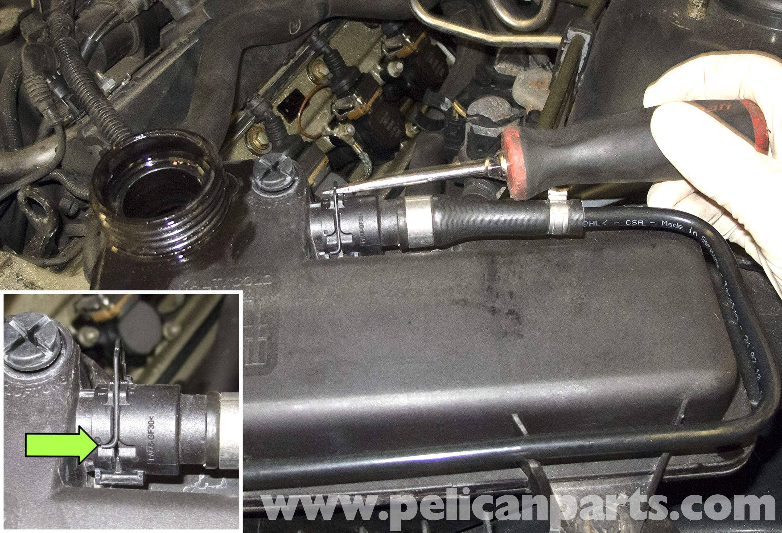 Bmw x5 coolant leak expansion tank