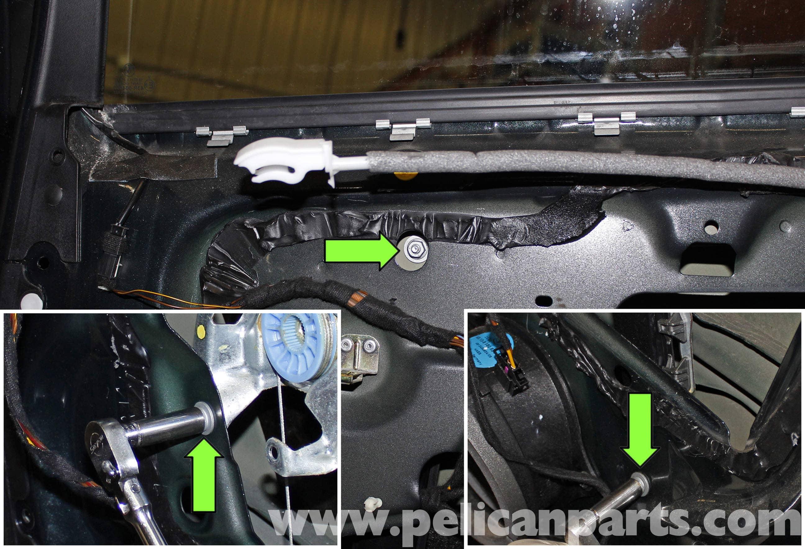 Bmw X5 Rear Window Regulator Replacement E53 2000 2006 Pelican