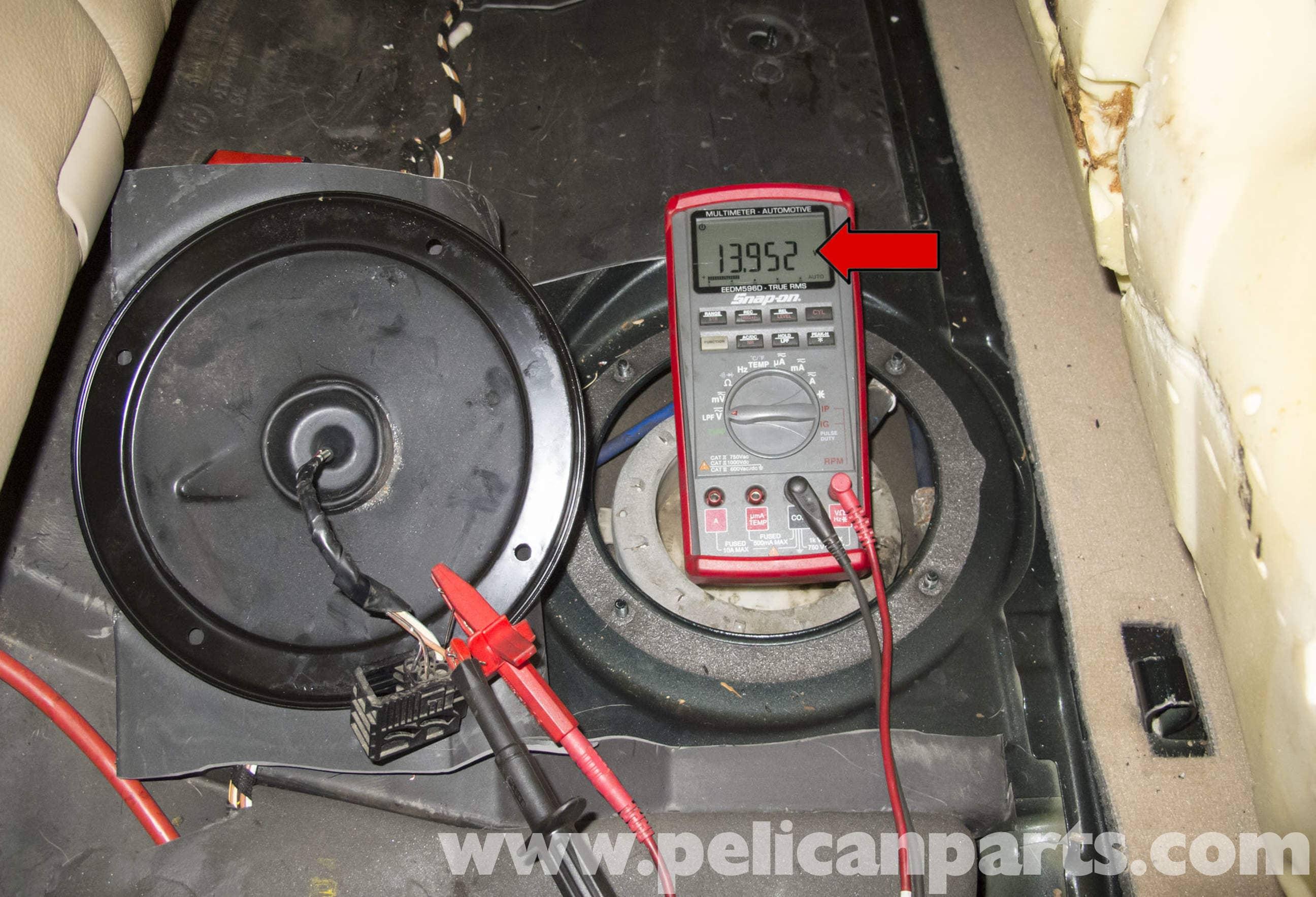BMW X5 Fuel Pump Testing (E53 2000 - 2006) | Pelican Parts