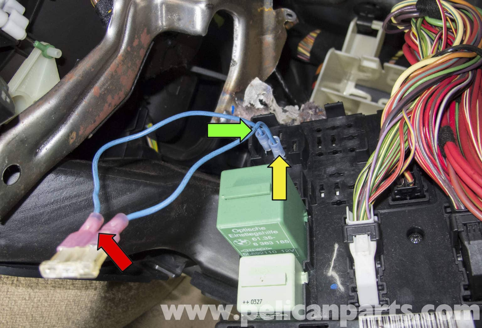 BMW X5 Fuel Pump Testing  E53 2000  2006    Pelican Parts DIY Maintenance Article
