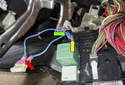 Electrical testing: Remove the fuel pump replay.