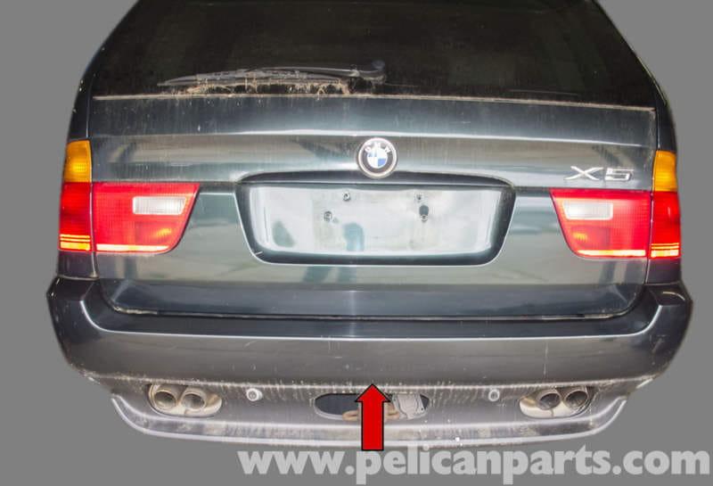 bmw rear bumper replacement  BMW X5 Rear Bumper Replacement (E53 2000 - 2006) | Pelican Parts DIY ...