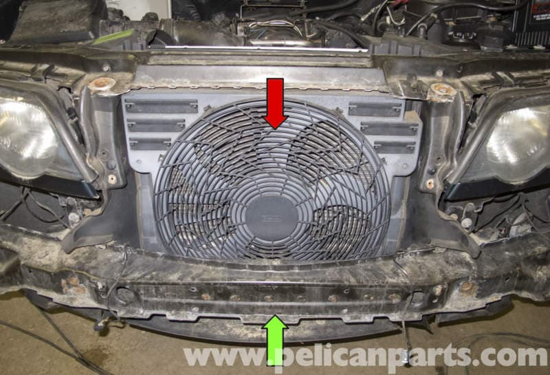 Bmw X5 Auxiliary Cooling Fan Replacement E53 2000 2006