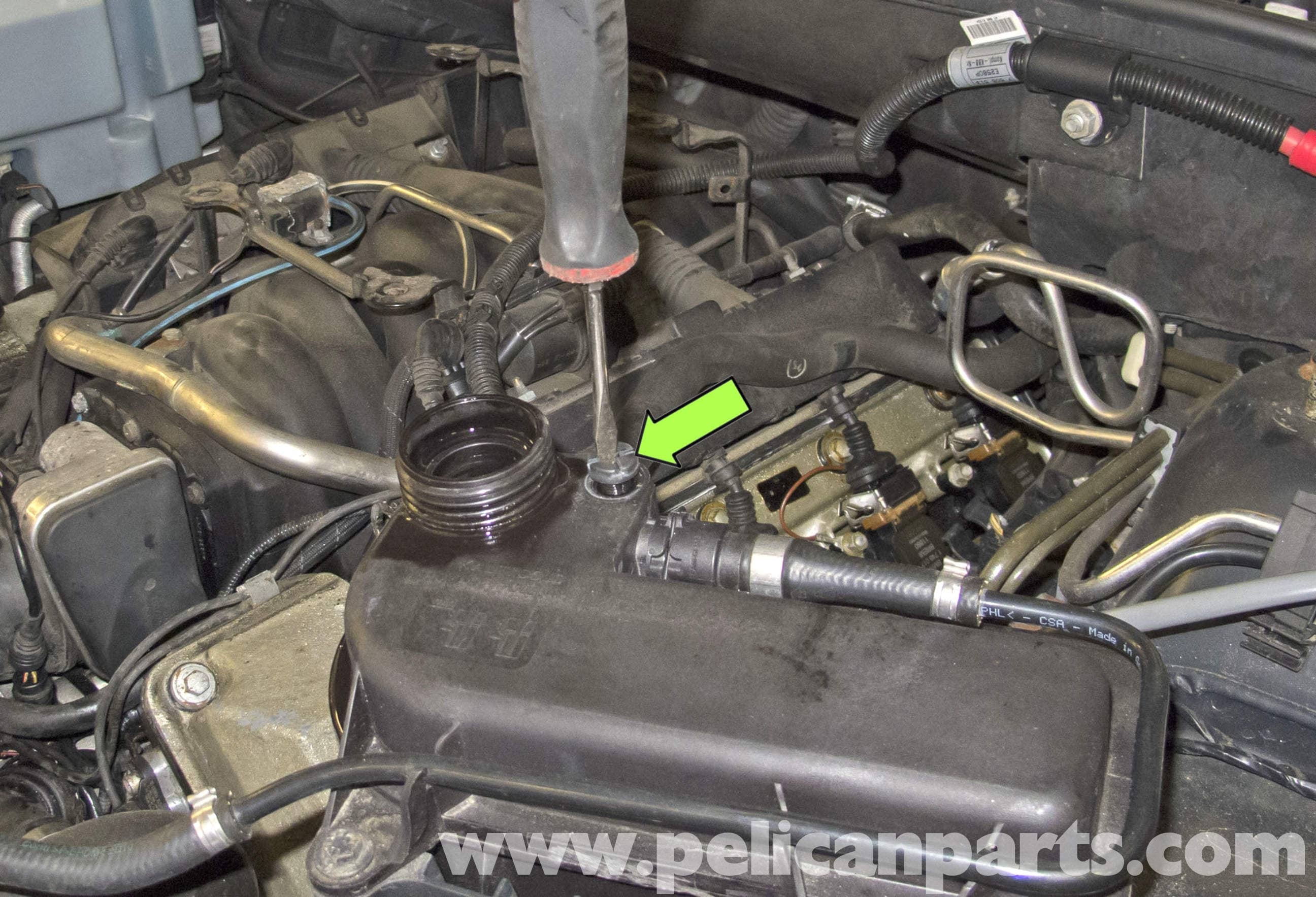 Bmw X5 Cooling System Draining And Filling E53 2000 2006
