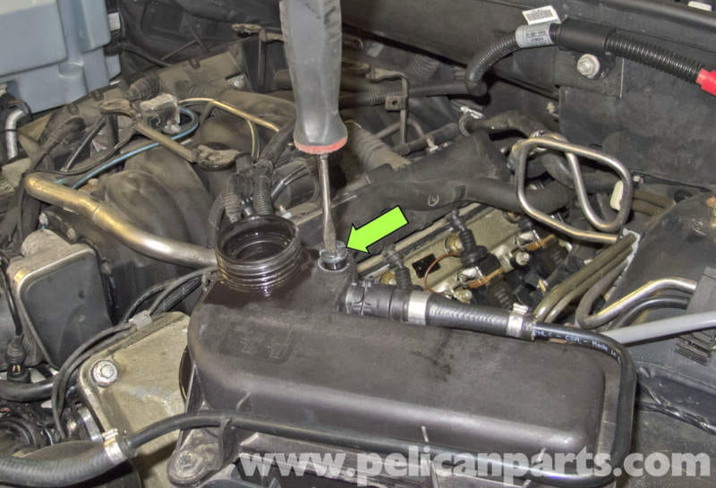 bmw x5 cooling system draining and filling  e53 2000