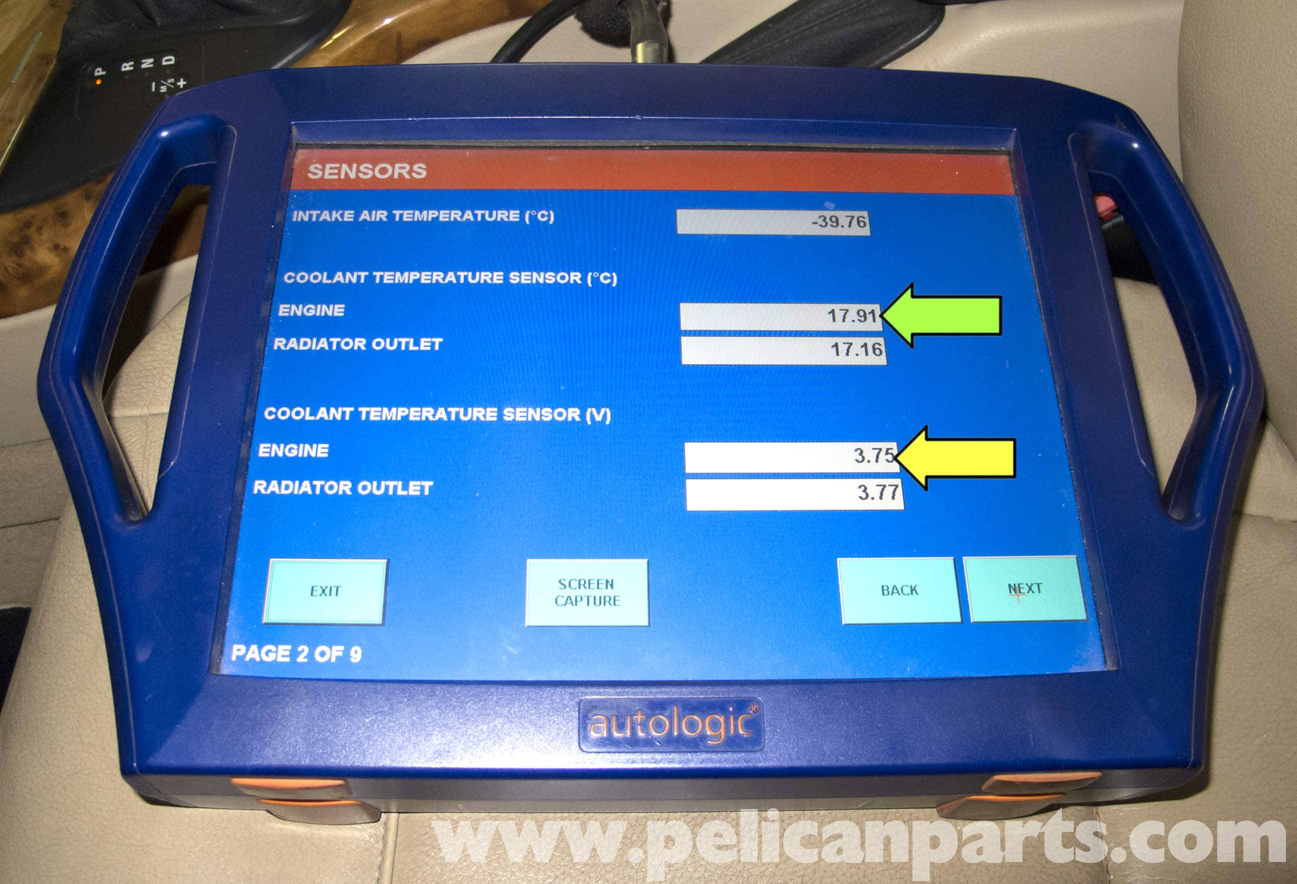 Coolant Temperature Sensor Switch For Computer Technical Service