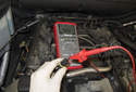 Testing Coolant Temp Sensor: You can also test the voltage from the DME to the sensor.