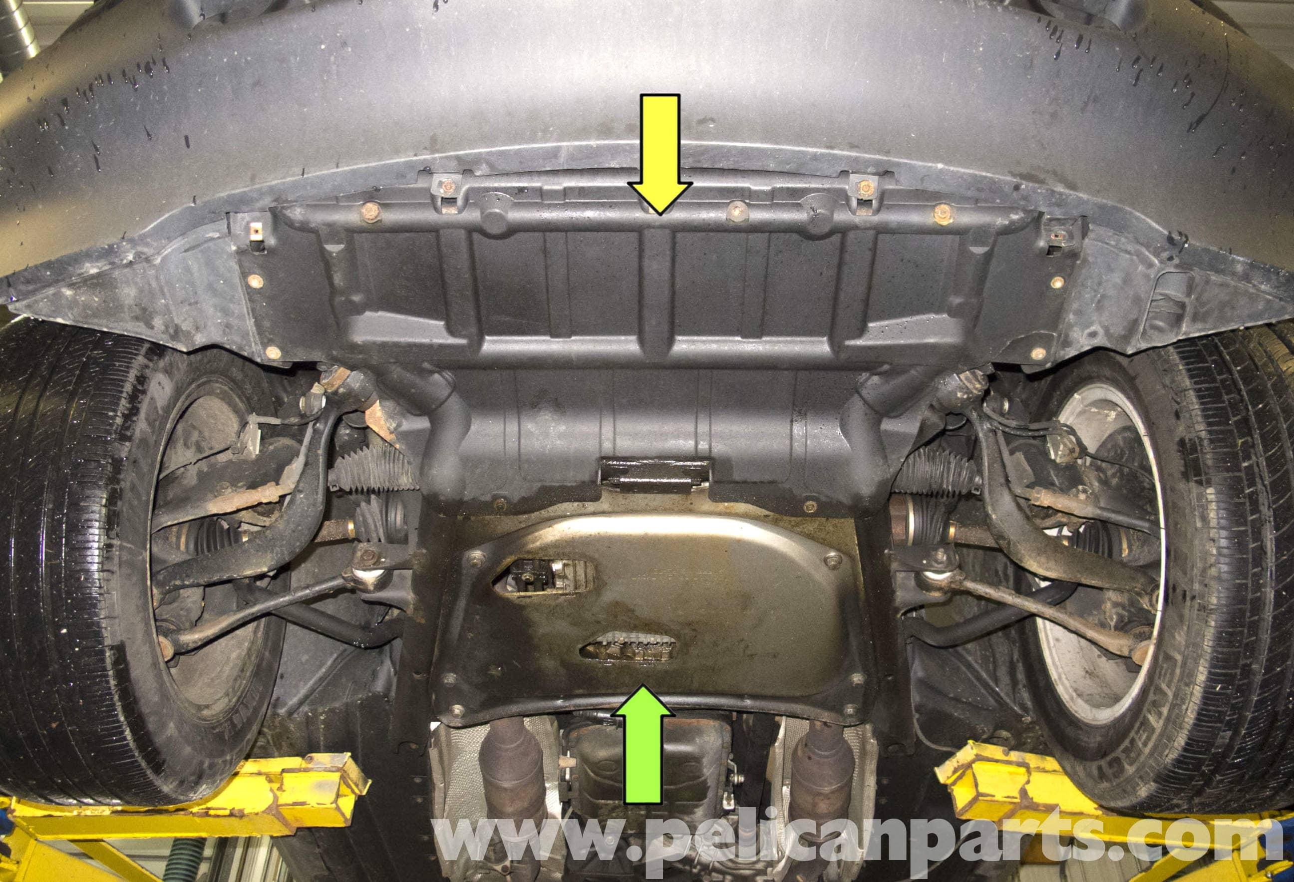 Bmw X5 Engine Splash Shield And Reinforcement Plate