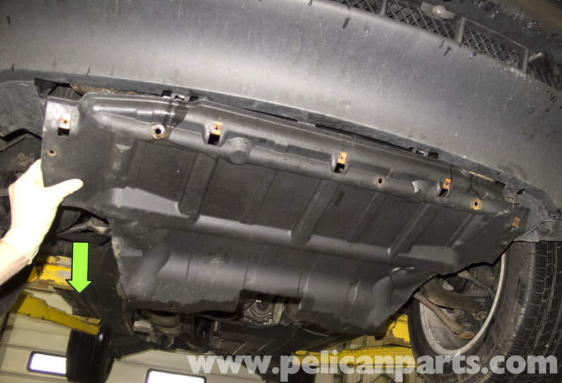 Bmw X5 Engine Splash Shield And Reinforcement Plate