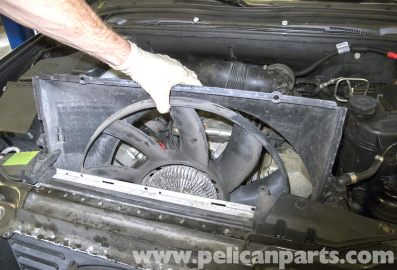 Bmw X5 Engine Cooling Fan Replacement E53 2000 2006