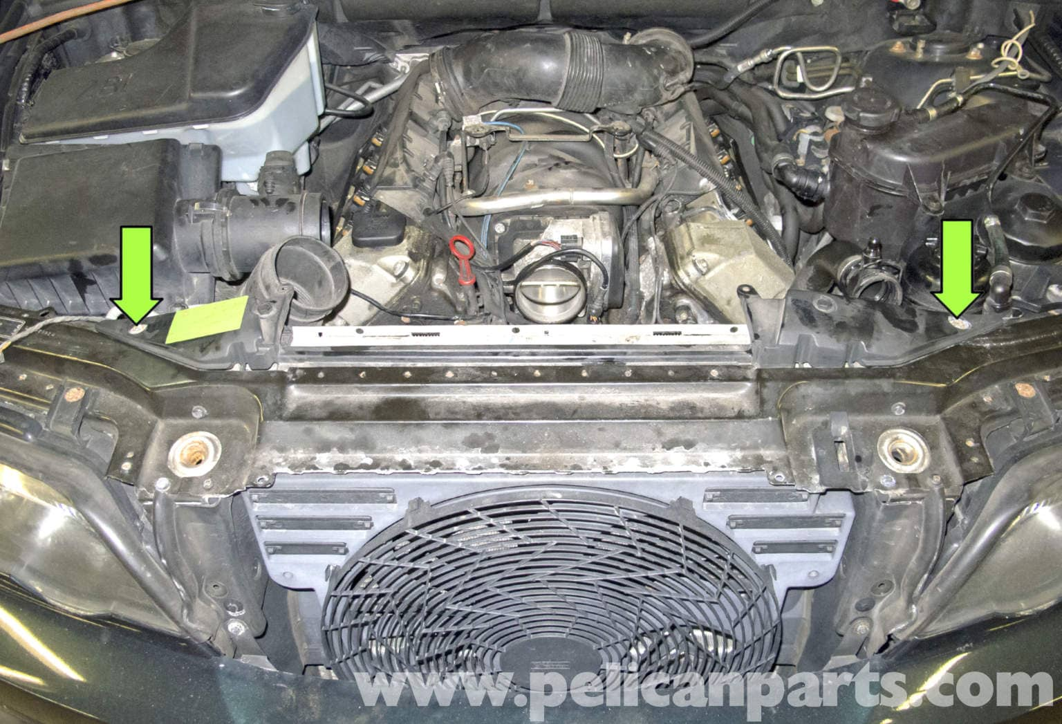 BMW X5 E53 3.0 3.0 PETROL DIESEL RADIATOR AUTO MANUAL 2000-06 BRAND NEW 4.4