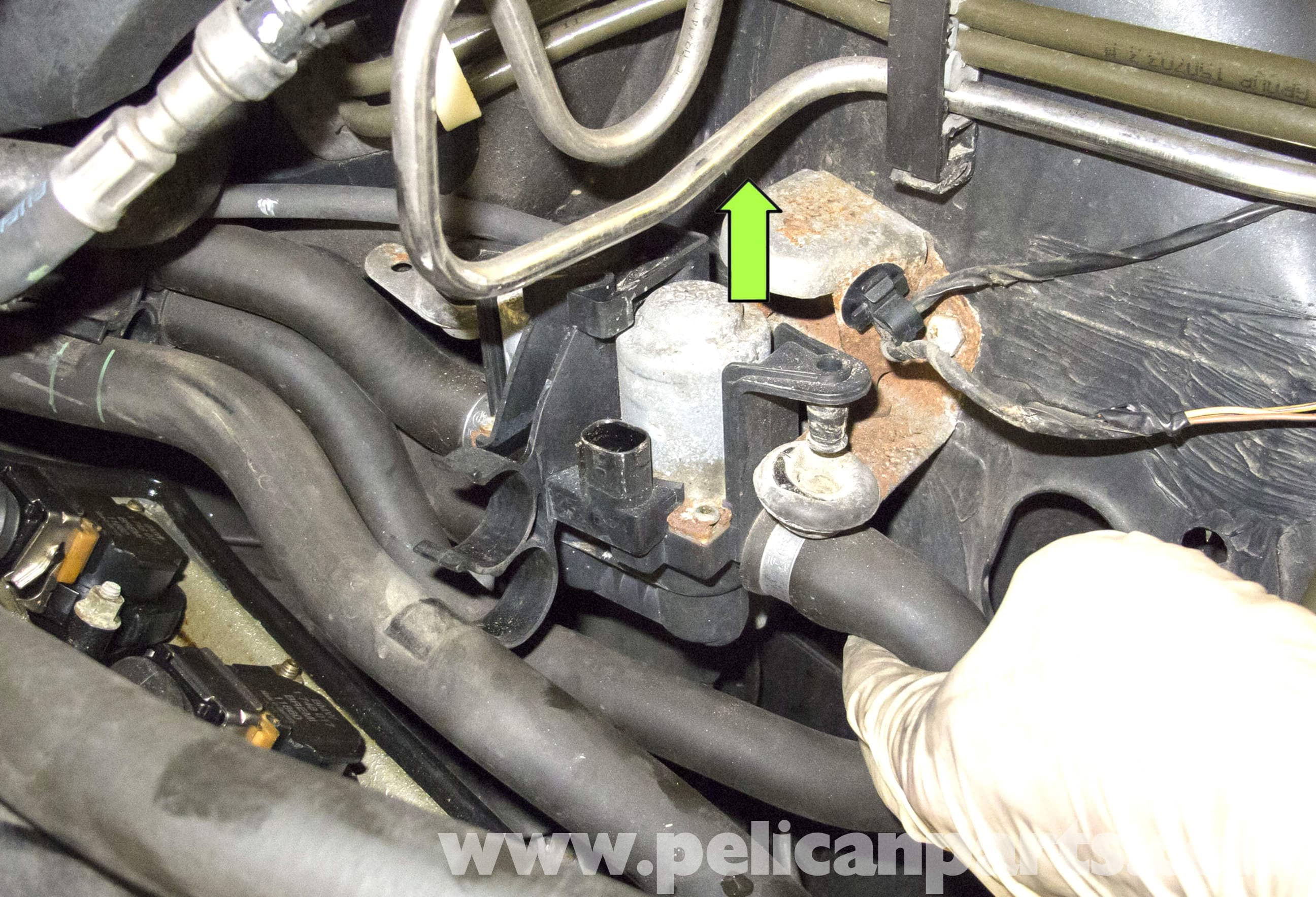 BMW X5 Heater Valve Testing and Replacement (E53 2000 - 2006